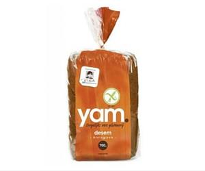 Nieuw | glutenvrij bio zuurdesembrood van Yam